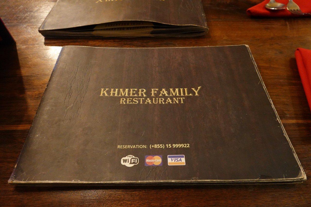 Khmer Family Restaurant Siem Reap Cambodia