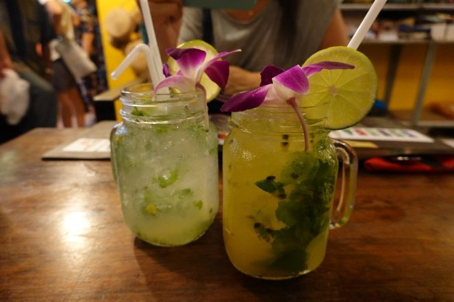 Kampor Pepper Mojito and Passion Fruit Mojito