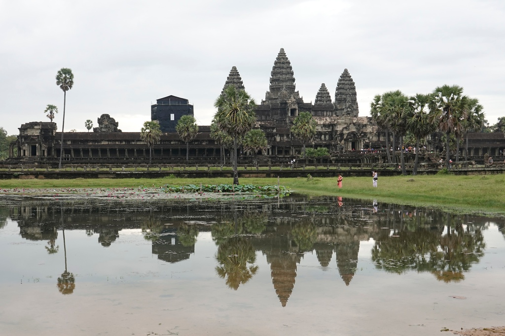 Angkor Wat after the sunrise