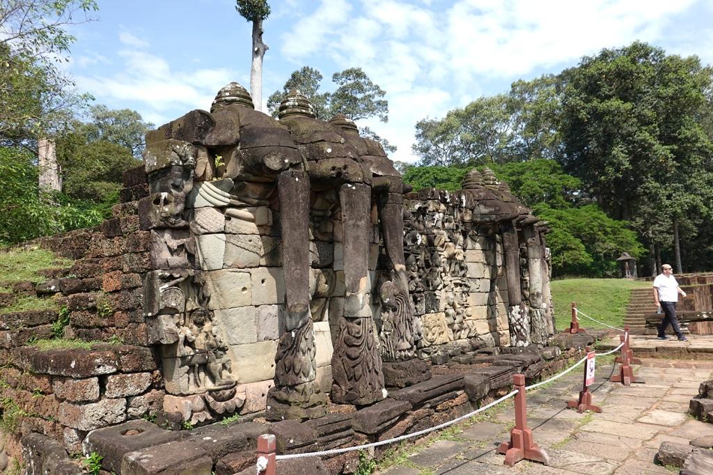 Elephant temple Angkor Cambodia