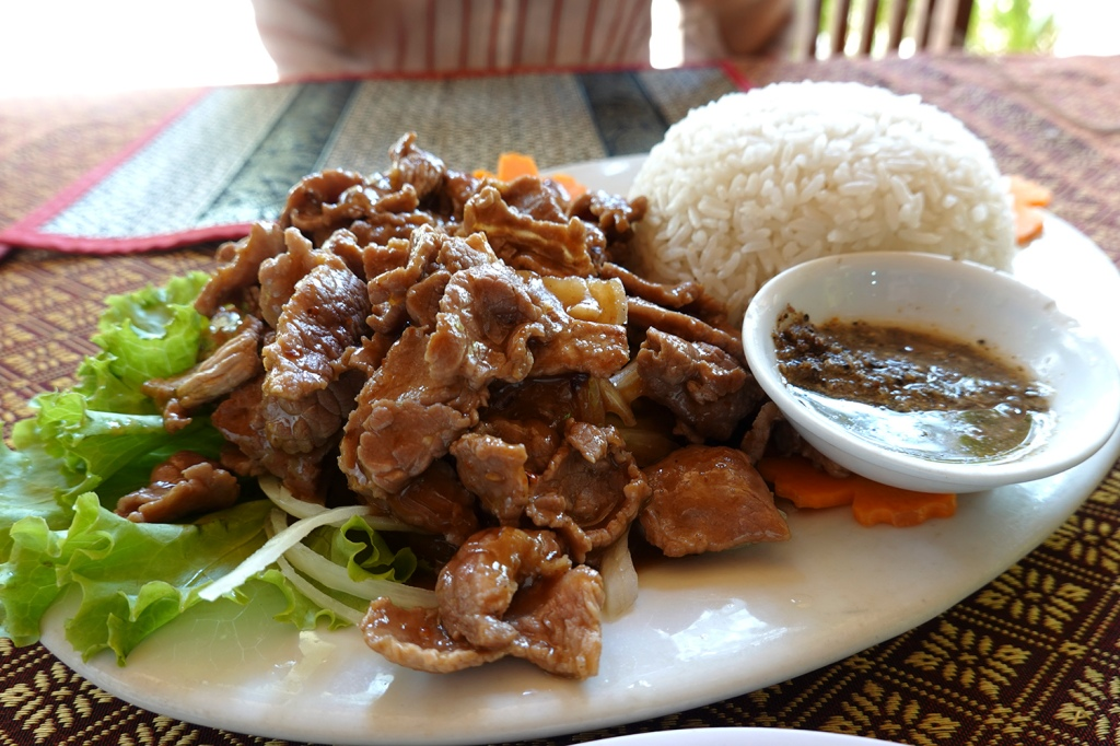 Beef Khmer Style