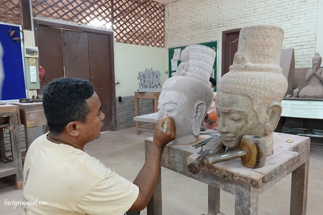 Stone carving for Temple Restoration project