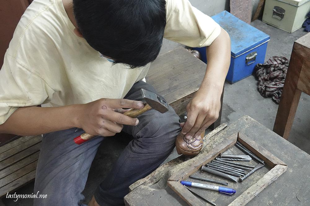 silver craft artisan d'angkor siem reap cambodia
