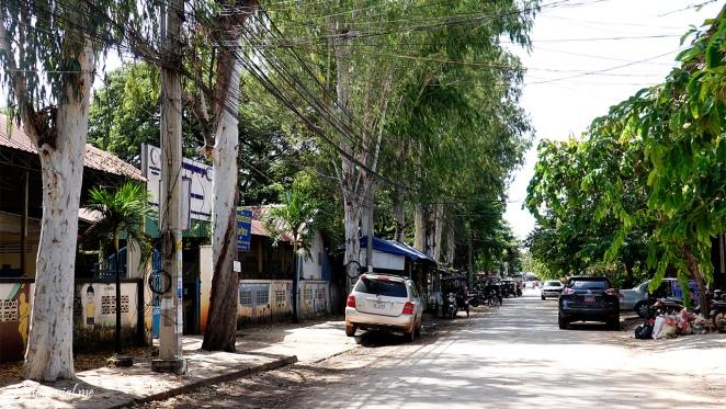 Street view siem reap cambodia