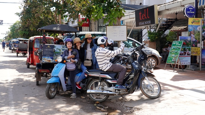 Siem reap people cambodia selfie