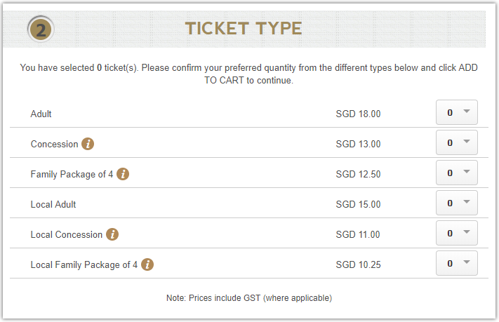 Ticket price online fro Wonderland