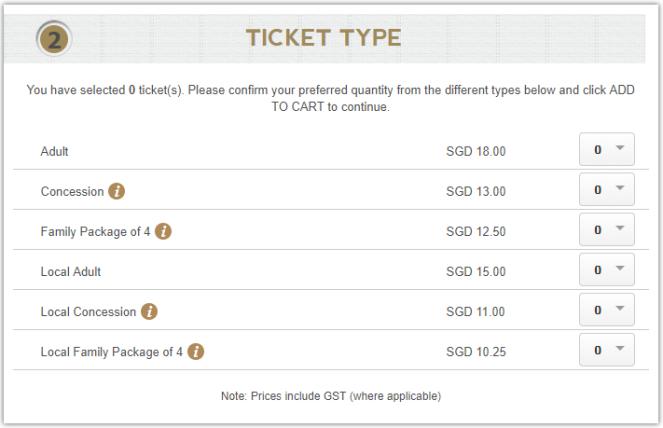Ticket price online fro Wonderland