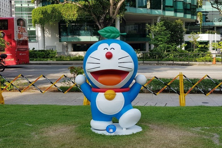 Doraemon Exhibition National Museum Singapore Leaf