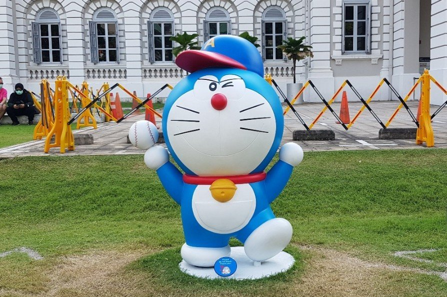 Doraemon Exhibition National Museum Singapore